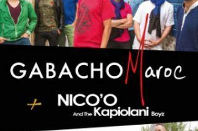 Gabacho Maroc + Nico'O & The Kapiolani Boyz à Biarritz