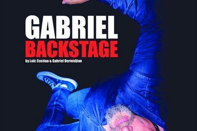Gabriel Dermidjan Dans Backstage à Cannes la Bocca