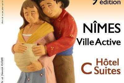 Gard aux Santons à Nimes