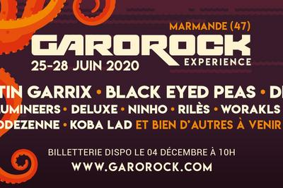 Garorock 2020 Pass 3 jrs : V+ S+D à Marmande