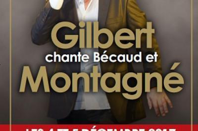 Gilbert Chante Bécaud Et Montagne à Paris 9ème