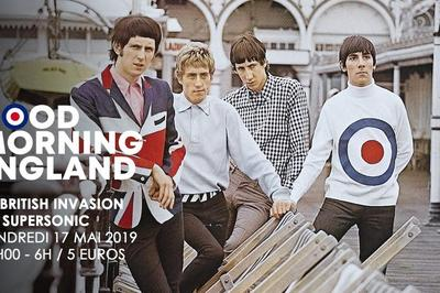 Good Morning England! La British Invasion à Paris 12ème