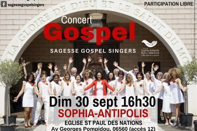 Concert Gospel Portes Ouvertes à Sophia Antipolis