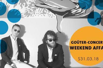 Goûter-Concert : Weekend Affair à Amiens