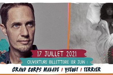 Grand Corps Malade / Yseult / Terrier à Saint Malo du Bois