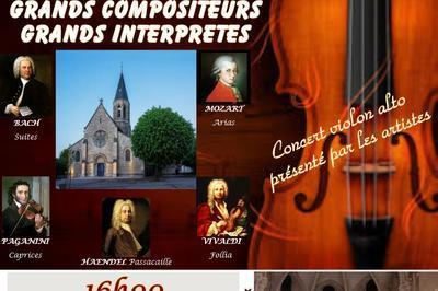 Grands Compositeurs Grands Interprètes à Louveciennes