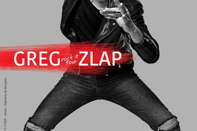 Greg Zlap : Rock It Tour à Paris 20ème