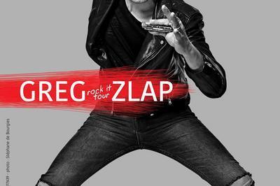 Greg Zlap - report à Tours