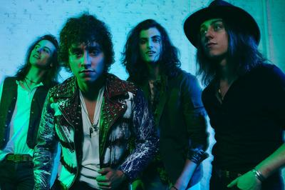 Greta Van Fleet à Paris 19ème