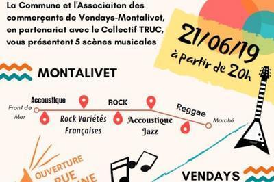 Groupes Acoustique / Jazz / Rock à Vendays Montalivet