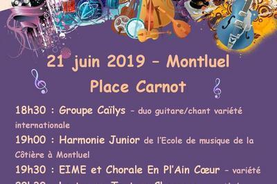 Groupes Locaux, Harmonies Et Chorale, Chants Et életro Punk à Montluel