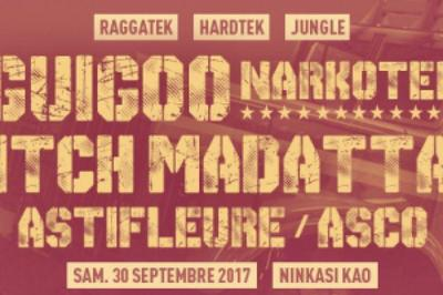 Guigoo Narkotek, Pitch Mad Attak, Astifleure à Lyon