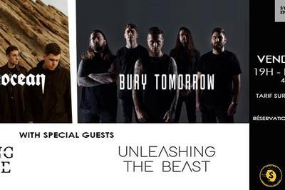 Being As An Ocean, Bury Tomorrow, Holding Absence et Unleashing the Beast à Douai