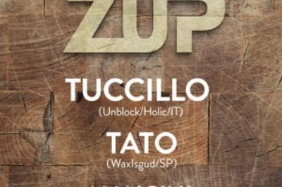 HedZup 2 Years Anniversary W/ Tuccillo X Tato X Mancini X Wlad à Paris 11ème