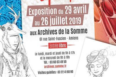 Histoires de costumes : un atelier de couture au son et lumière d'Ailly sur Noye à Amiens