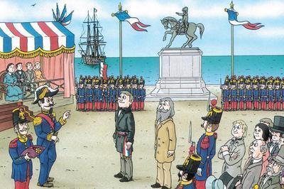 Histoires de la Normandie illustrées à Trouville sur Mer