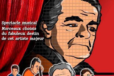 Hommage à Serge Reggiani à Perpignan