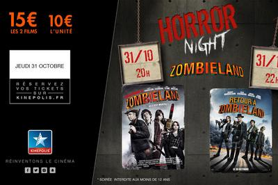 Horror Night : ZOMBILAND 1 et 2 à Rouen