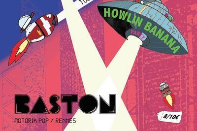 Howlin banana party avec Baston et Foggy Tapes à Lyon