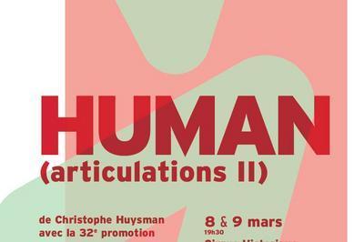 HUMAN (articulations II) à Chalons en Champagne