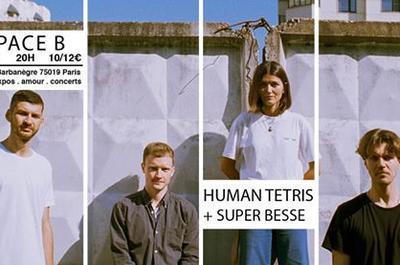 Human Tetris + Super Besse à Paris 19ème