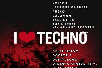 I Love Techno Europe 2018 à Perols