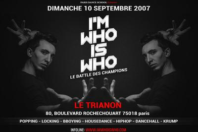 I'm who is who - Le battle des champions à Paris 18ème
