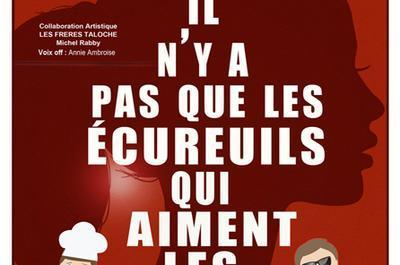 Il N'y A Pas Que Les Ecureuils Qui Aiment Les Glands à Avignon