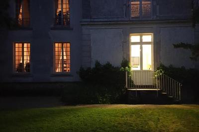 Illuminations Dans Les Jardins Du Musée à Montmorency
