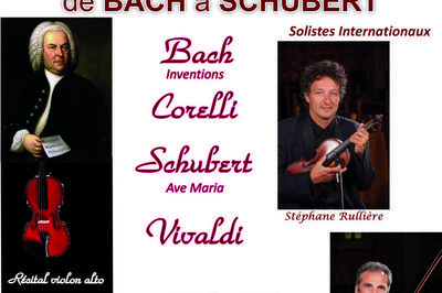 De Bach à Schubert à Champigny sur Marne