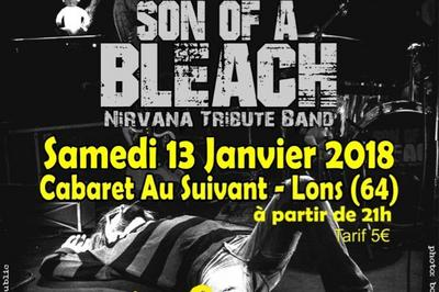 Concert Son of a Bleach Nirvana et Lovecraft à Lons