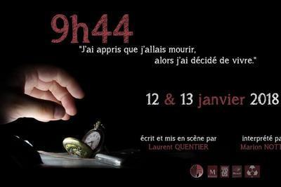 9h44, one-woman show poétique à Montpellier