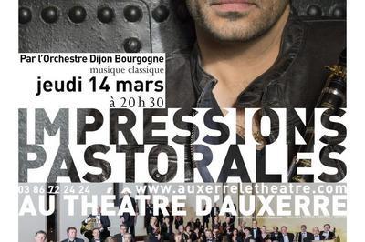 Impressions pastorales à Auxerre