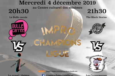 Impro Champions Ligue / Match 3 & 4 à Toulouse
