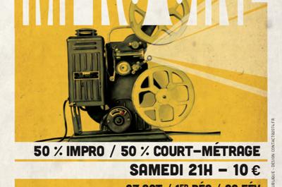 Impro Ciné à Bordeaux