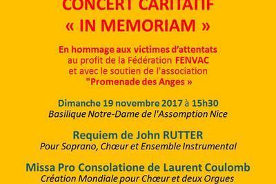 In Memoriam Concert Caritatif à Nice