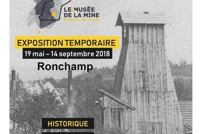 Inauguration De L'exposition Les Houillères Du Keuper En Haute-saône à Ronchamp