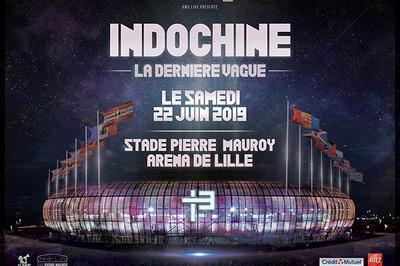 Indochine - La dernière Vague à Villeneuve d'Ascq