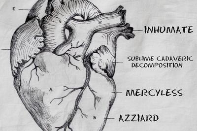 Inhumate, SCD, Mercyless & Azziard à Strasbourg