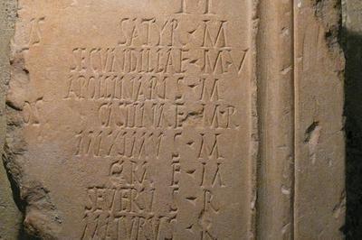 Inscriptions Latines à Vaison la Romaine