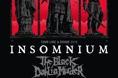 Insomnium, The Black Dalhia Murder Et Stam1na à Lyon