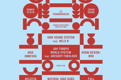 Dub Echo #20 : Jah Tubbys World System, Ubik Sound System à Villeurbanne
