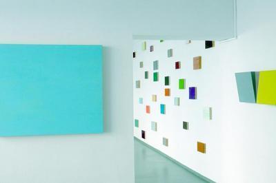 Installation de monochromes de Vanesa Wallet Hardi à Lyon