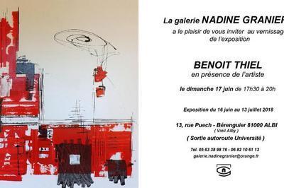 Exposition De Peinture Benoit Thiel à Albi