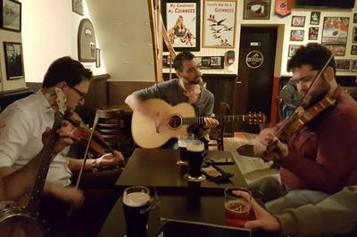 Irish Music Session at Dé Dannan à Nantes