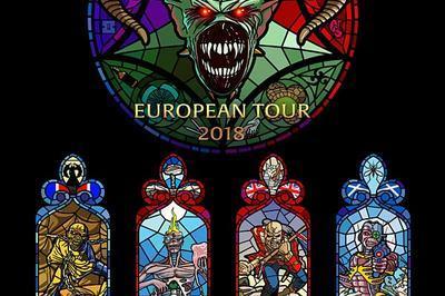Iron Maiden à Paris 12ème