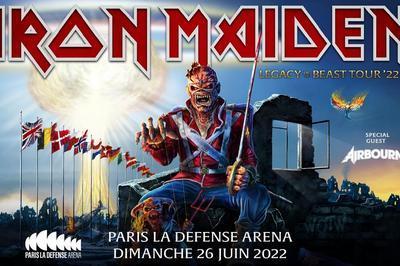 Iron Maiden - report à Nanterre