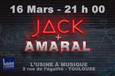 J?CK et Amaral à Toulouse