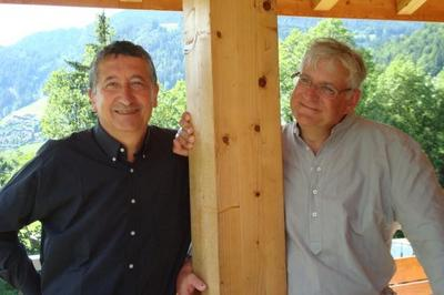 Jacques Raynaut & Eric Charray musique classique, duo piano clarinette à Grenoble