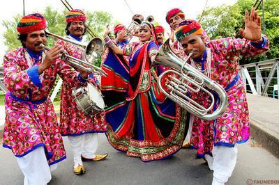 Jaipur Maharaja Brass Band, L'heure Indienne.... à Fecamp